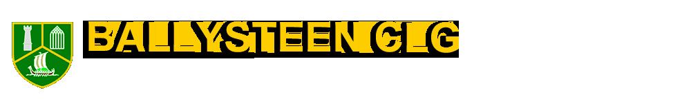 Ballysteen GAA header image